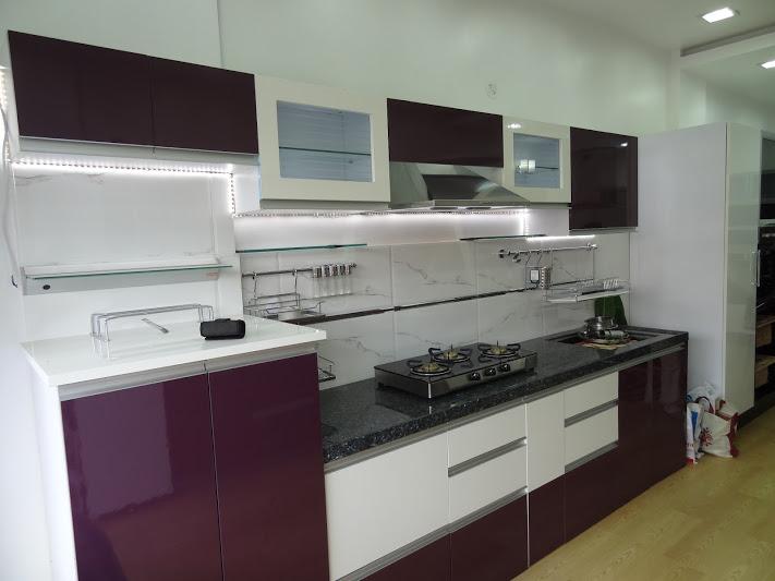 Shirkes Modular Kitchen Introduces new staright kitchen ...